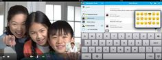 Skype for iPad has a well-designed interface that makes it easy and fun to keep in touch with others. The app is a must-have for those who want to use their iPads' video function to its fullest.   Image courtesy of Skype
