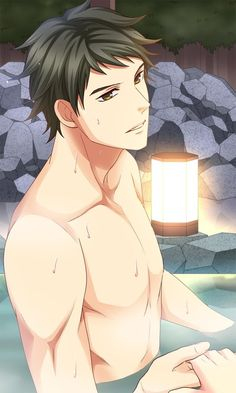 Remarkable phrase Handsome anime topless sorry, that