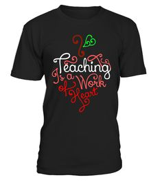"# Teaching Is A Work Of Heart T-shirt .  Special Offer, not available in shops      Comes in a variety of styles and colours      Buy yours now before it is too late!      Secured payment via Visa / Mastercard / Amex / PayPal      How to place an order            Choose the model from the drop-down menu      Click on ""Buy it now""      Choose the size and the quantity      Add your delivery address and bank details      And that's it!      Tags: Teaching is a work of heart T-shirt is a…"