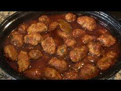 Soutzoukakia AAA a kemencében az Eliza-tól Cauliflower Soup, Greek Recipes, Oven, Ethnic Recipes, Food, Meals, Greek, Essen, Greek Food Recipes
