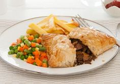 Tender Steak Puff Parcels