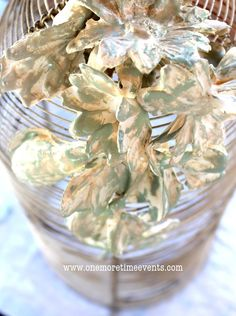 How to Make Plaster of Paris Flowers at One More Time Events.com