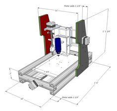 DIY Desktop CNC Machine Plans and Comprehensive Builder's Manual | MyDIYCNC - Home of the DIY Desktop CNC Machine