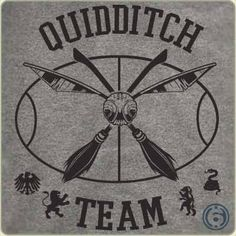 Quidditch Team T-Shirt by 6 Dollar Shirts. Thousands of designs available for men, women, and kids on tees, hoodies, and tank tops. Harry Potter Quidditch, Harry Potter Shirts, Harry Potter Art, Hogwarts, Oliver Wood, Movie Tees, Team T Shirts, Tee Shirts, Compass Tattoo