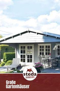 Heute zeigen wir euch ein großes Gartenhaus von steda  #somussdas #steda #stefan #gartenliebe #gartengestaltung #gartenideen #gartenhaus #gartenhausliebe #luxery #ranch #veranda #landhaus #terrasse #wohnenundgarten