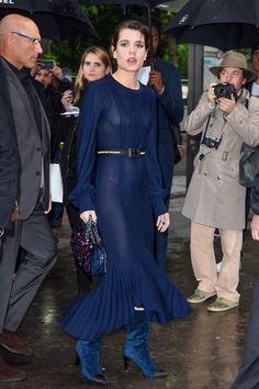 5.03.17  Charlotte Casiraghi at Chanel R17/18 at Grand Palais in Paris
