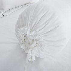 Hotelier Prestigio™ Check Silver Embroidery Fitted Sheet Set