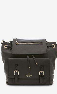Kate Spade New York Dark Grey Backpack.