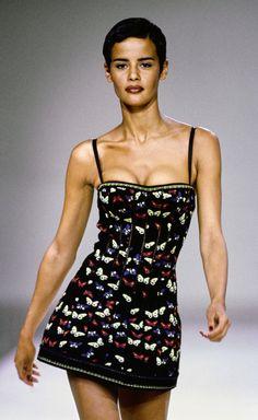 Azzedine Alaïa // FALL 1991 // READY-TO-WEAR // Model: Nadège du Bospertus