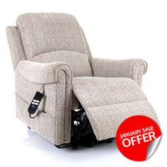 This excellent fabric Riser Recliner combines luxury and comfort into an affordable and good looking chair. Get the Elmsbridge Riser Recliner exclusively from CareCo for as little as £425.