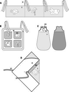 Billedresultat for pattern baby size guide burda