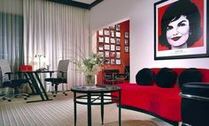 TEXAS TOP INTERIOR DESIGNERS: DESIGN DUNCAN MILLER ULLMANN - Art Suite, Zaza Hotel, Dallas, TX | Luxury Interior Design | Design Inspiration | www.homeandecoration.com #interiordesign styles #duncanmillerullmann #homedecor #designideas #moderndesign #luxuryinterior #topinteriordesigners