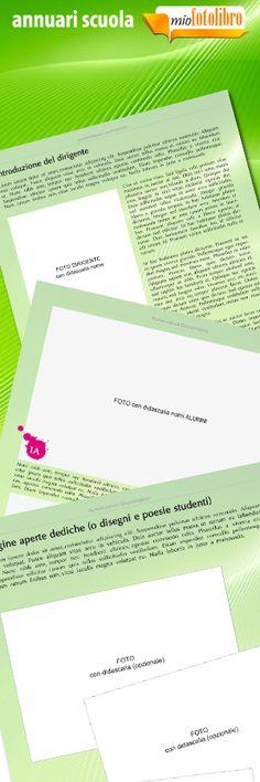 Modello Abstract Annuari per la Scuola - un servizio nuovo di miofotolibro.it per tutte le scuole italiane - un operatore impaginerà per la vostra scuola l'annuario