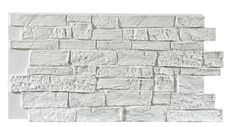 Texture Plus Panels - Stonewall - White - Interlock