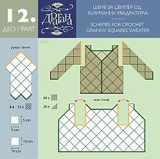 I started to crochet hexagons for my daughter's vest without an idea how I will join them to make a vest. I thought, I will crochet some hexagons and I will try to join them somehow. Sadly, t… Débardeurs Au Crochet, Gilet Crochet, Crochet Jumper, Crochet Video, Crochet Motifs, Crochet Jacket, Crochet Diagram, Crochet Squares, Crochet Chart