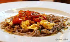Viljattoman Vallaton: Tomaattinen tattarinuudeli