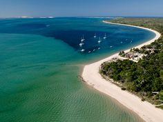 Benguerra Lodge, Benguerra Island, Bazaruto Archipelago, Mozambique - The Ultimate Travel Company Beach Hotels, Beach Resorts, Best Places To Travel, Great Places, Mozambique Beaches, Costa, Island Holidays, Parque Natural, Explorer