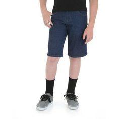 Rustler - Boys' Denim Shorts, Size: 4 Regular, Gray