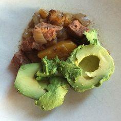 @fmspaleo - Breakfast today #latergram #wholelifechallenge #whole30 #paleo #paleocanada #paleotoronto butternut beef stew