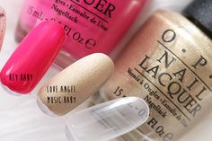 """Gwen Stefani For OPI """"Love.Angel.Music.Baby."""" and """"Hey Baby"""""""