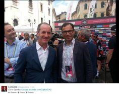 #Zaia con # Davide #Cassani