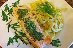 Lachs mit frischem Fenchel (Rezept mit Bild) von judith   Chefkoch.de