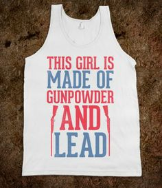 Gunpowder And Lead. Love.