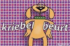 """Gratis e-card: """"Kriebelbeurt"""""""