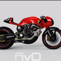 Another new school cafe racer