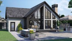 Here are the most searched and viewed homes from Timber Block's Classic Series. Timber Block designs and constructs wood homes that are highly energy efficient, sustainable and built with green technology. #timberblock #loghomes #logcabinhomes #cabin #cottage #cottageliving #floorplans