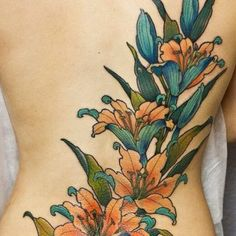 155 Pretty Lily Tattoo Designs And Meanings nice Tiger Lilly Tattoo, Tiger Butterfly Tattoo, Tiger Face Tattoo, Calla Lily Tattoos, Gladiolus Flower Tattoos, Lily Tattoo Meaning, Tattoos With Meaning, Lily Tattoo Design, Flower Tattoo Designs
