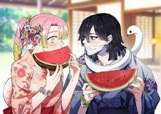 Kimetsu no Yaiba (Demon Slayer) Image - Zerochan Anime Image Board Otaku Anime, Anime Naruto, Manga Anime, Animé Fan Art, Manga Dragon, Dragon Slayer, Another Anime, Anime Love Couple, Slayer Anime