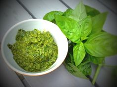Making pesto couldn't be quicker or simpler. If you are known to purchase pesto premade, try this homemade version and you will ...