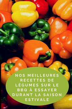 Nos meilleures recettes de légumes sur le BBQ à essayer durant la saison estivale . . . . #meilleures #recettes #BBQ #légumes #estivale #barbecue #food #foodies #aliments