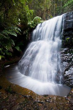 Silver Falls, Mt Wellington, Tasmania