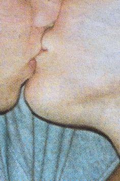 """Saatchi Online Artist: Daniel Calder; Giclée 2010 Photography """"Teen kiss - Friday, July 2, 2010"""""""