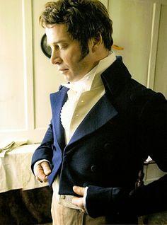 Si parla molto spesso e a lungo della moda Regency: stile impero, mussola, cappellini... e gli uomini? Non dovevano, forse, vestirsi anche loro? Dal Club Sofa and Carpet di Jane Austen.