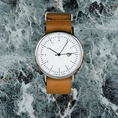 Harold (White Face/Brown Genuine Leather)
