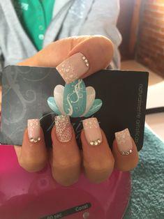 Nails art, acrylic nails, nails, bride nails