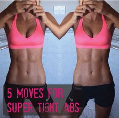 5 Moves for Super Tight Abs