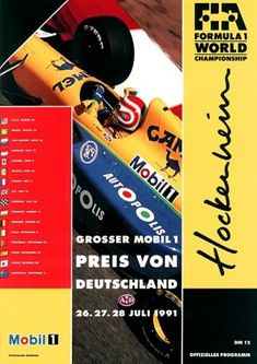 1991 GP-Deutschland-(Hockenheim) Grands Prix Germany • STATS F1