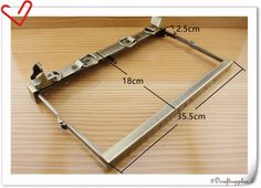 14 inch metal frame Vintage Anti bronze Doctors bag frame purse frame M57-in Bag Parts & Accessories from Luggage & Bags on Aliexpress.com   Alibaba Group