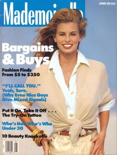 January 1993 cover with seventeen-year-old Niki Taylor