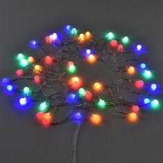 7cabbf716f9  in.tec  Guirnalda de bolas LED - 50 LED (12