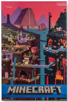 ThinkGeek :: Minecraft Posters
