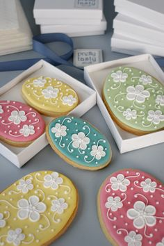Iced Easter Biscuits | wowthankyou.co.uk