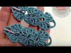 Items similar to Sterling Silver Dangle Earrings with Swarovski Element / Tatting Earrings / Turquoise Long Silver Earring/ Drop Earring/ Elegance and Style on Etsy Tatting Earrings, Diy Earrings, Crochet Earrings, Needle Tatting, Tatting Lace, Long Silver Earrings, Silver Necklaces, Silver Jewelry, Silver Rings