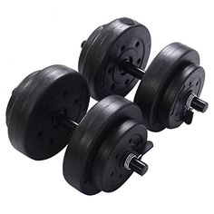 Goplus Weight Dumbbell Set 40 LB Adjustable Cap Gym Barbell Plates Body Workout http://adjustabledumbbell.info/product/goplus-weight-dumbbell-set-40-lb-adjustable-cap-gym-barbell-plates-body-workout/