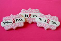 Breast Cancer Awareness Month Cookies | Cookie Connection