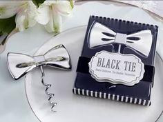 http://www.regalosbodasbautizoscomuniones.com/12-bodas Regalos para invitados de Boda en España: PAJARITA SACACORCHOS EN CAJA DE REGALO Pajarita Abridor Pres...